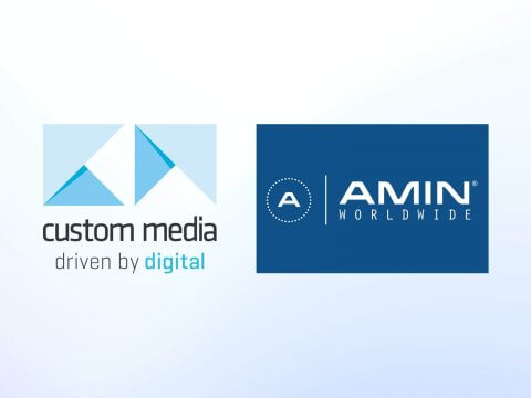 Custom Media Joins AMIN Worldwide