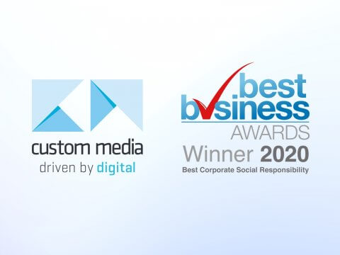 Custom Media Wins Best CSR Award